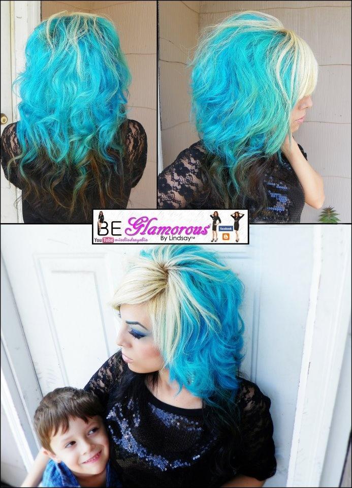 Aqua Hair coloring #7, Download drawings