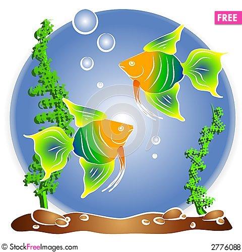 Aquarium clipart #2, Download drawings