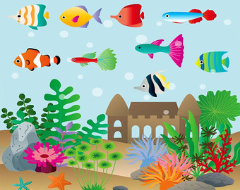 Aquarium clipart #4, Download drawings