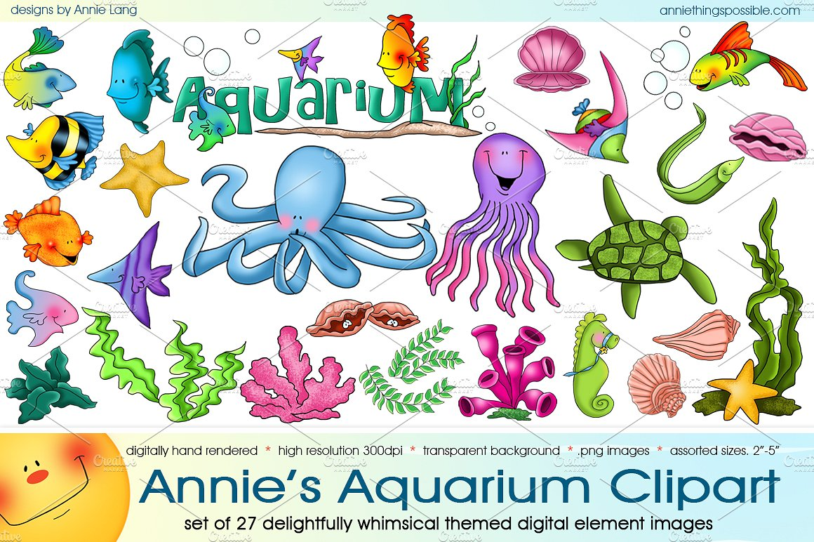 Aquarium clipart #5, Download drawings
