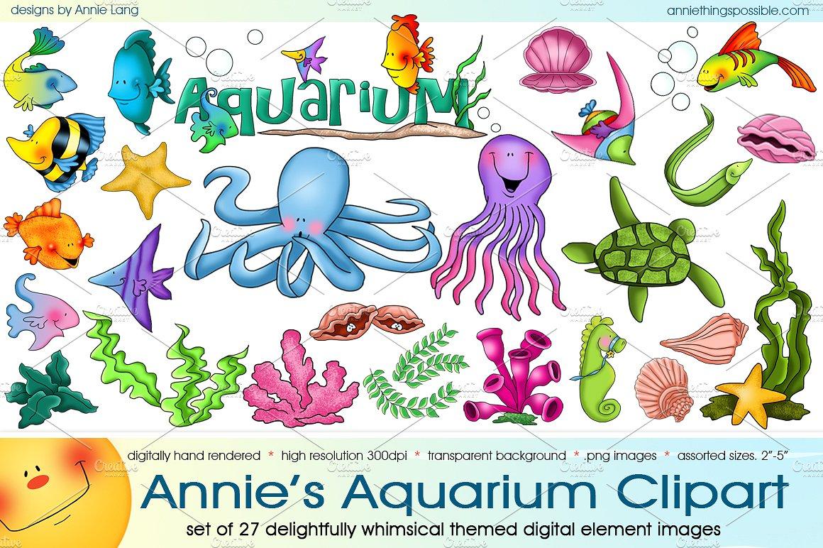Aquarium clipart #5, Download drawings