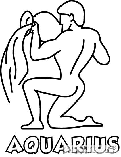 Aquarius (Astrology) clipart #19, Download drawings