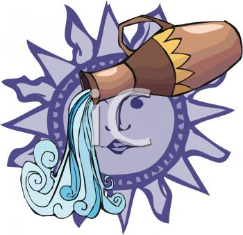 Aquarius (Astrology) clipart #13, Download drawings