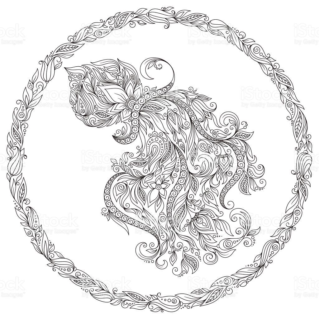 Aquarius (Astrology) coloring #9, Download drawings