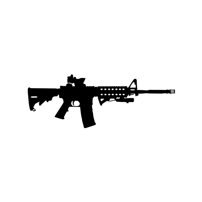 ar 15 svg #1243, Download drawings