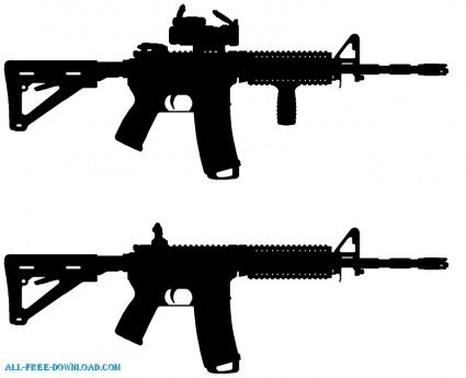 ar 15 svg #1242, Download drawings