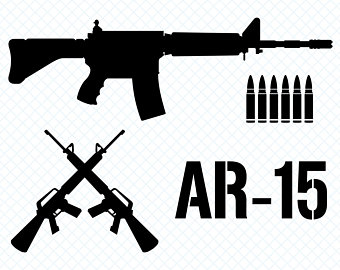ar 15 svg #1248, Download drawings