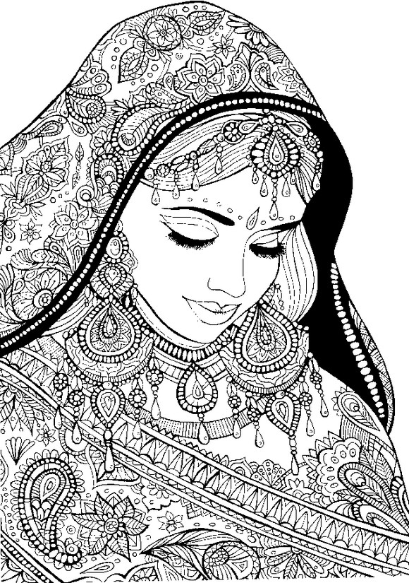 Arabis coloring #3, Download drawings