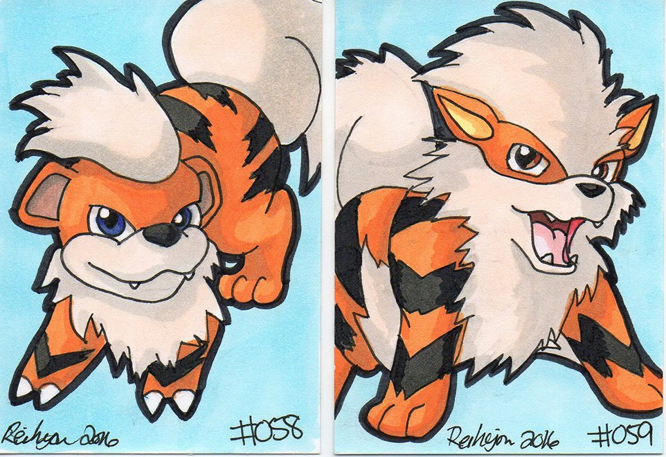Arcanine (Pok#U00e9mon) coloring #1, Download drawings