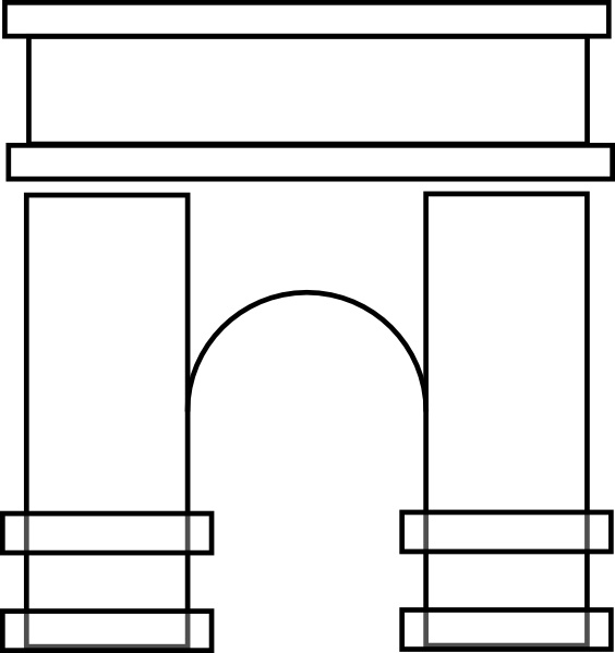 Arch clipart #19, Download drawings