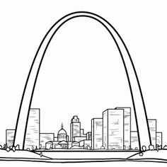 Arch coloring #15, Download drawings