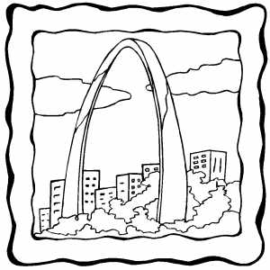 Arch coloring #6, Download drawings