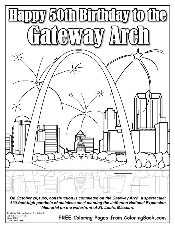Arch coloring #5, Download drawings