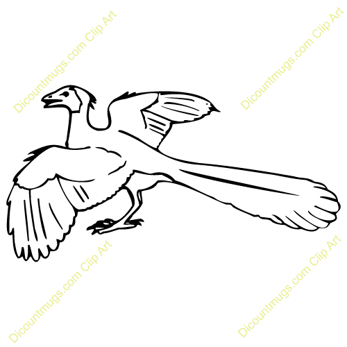 Archaeopteryx clipart #3, Download drawings