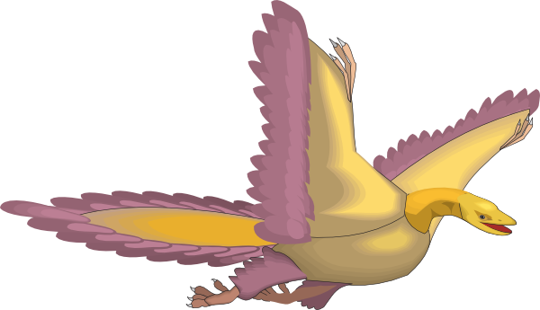 Archaeopteryx clipart #2, Download drawings