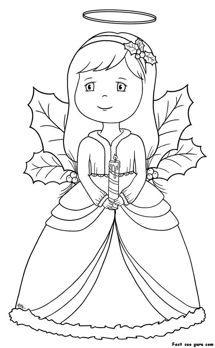 Archangel coloring #13, Download drawings
