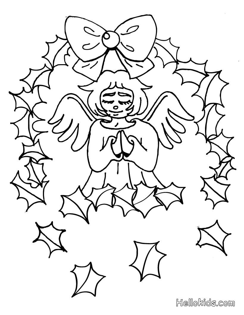 Archangel coloring #19, Download drawings
