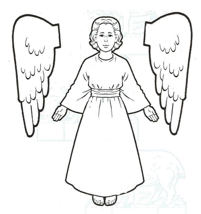 Archangel coloring #17, Download drawings