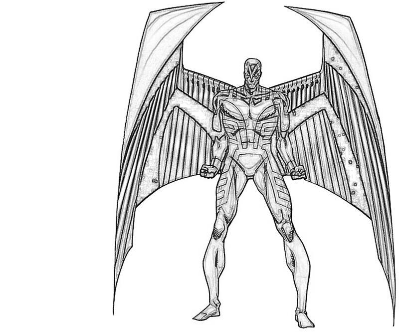Archangel coloring #10, Download drawings