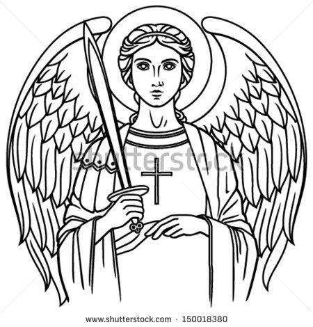 Archangel Michael! clipart #11, Download drawings