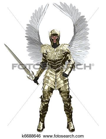 Archangel Michael! clipart #9, Download drawings
