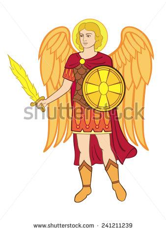 Archangel Michael! clipart #20, Download drawings