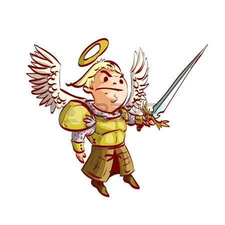 Archangel Michael! clipart #2, Download drawings