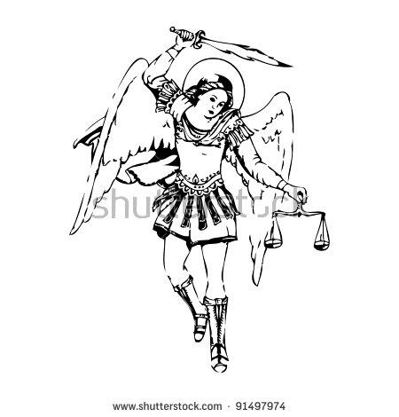 Archangel Michael! clipart #16, Download drawings