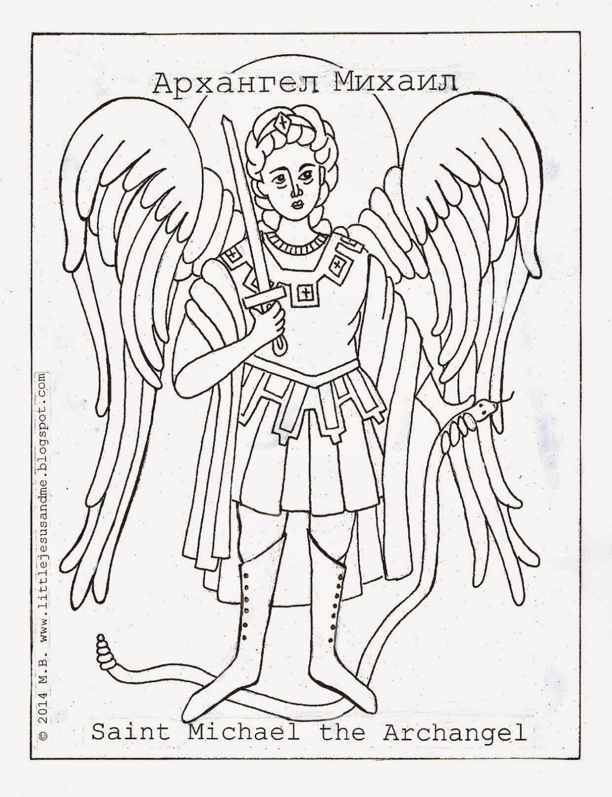 archangel michael coloring page archangel michael coloring download archangel michael