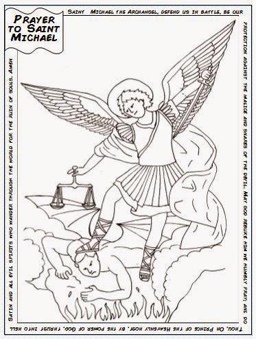 Archangel Michael! coloring #7, Download drawings