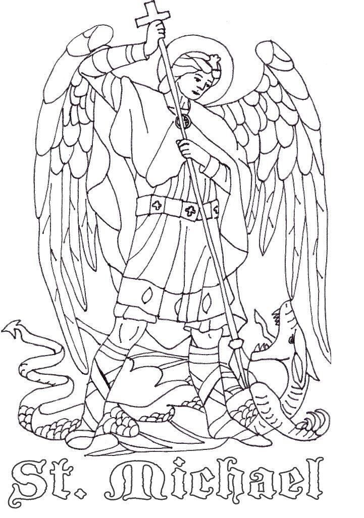 Archangel Michael! coloring #17, Download drawings