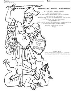 Archangel Michael! coloring #12, Download drawings