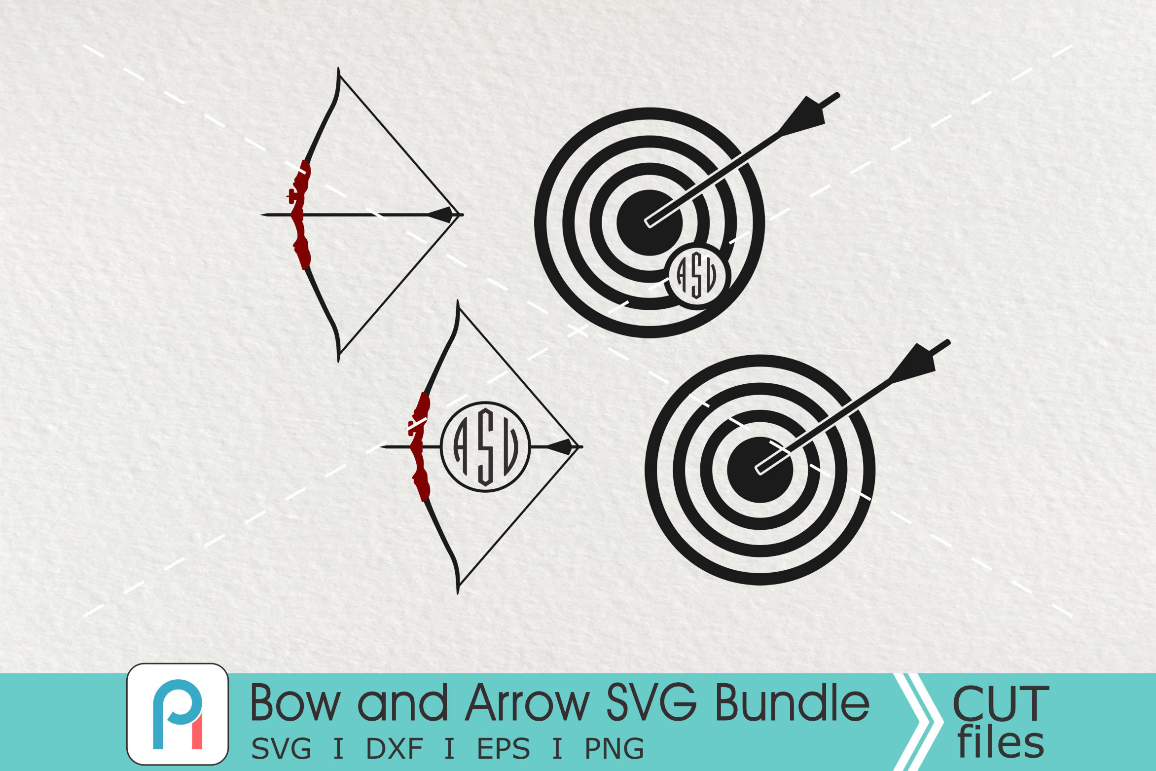 archery svg #1197, Download drawings