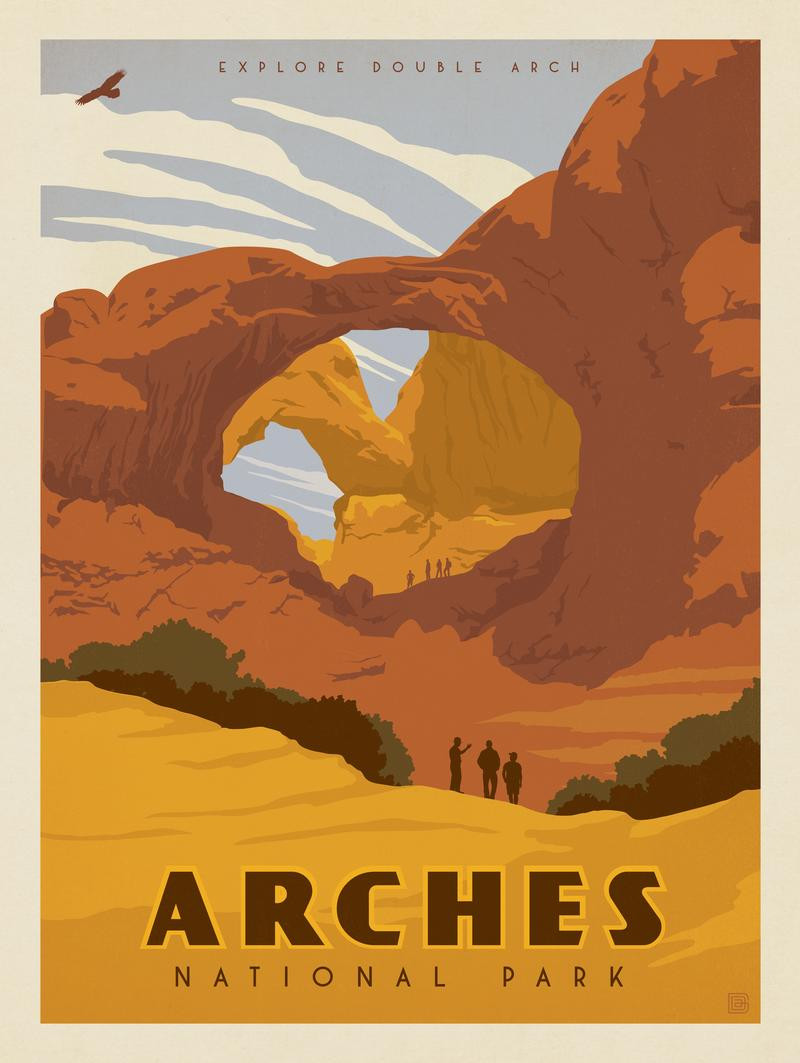 Arches National Park clipart #2, Download drawings