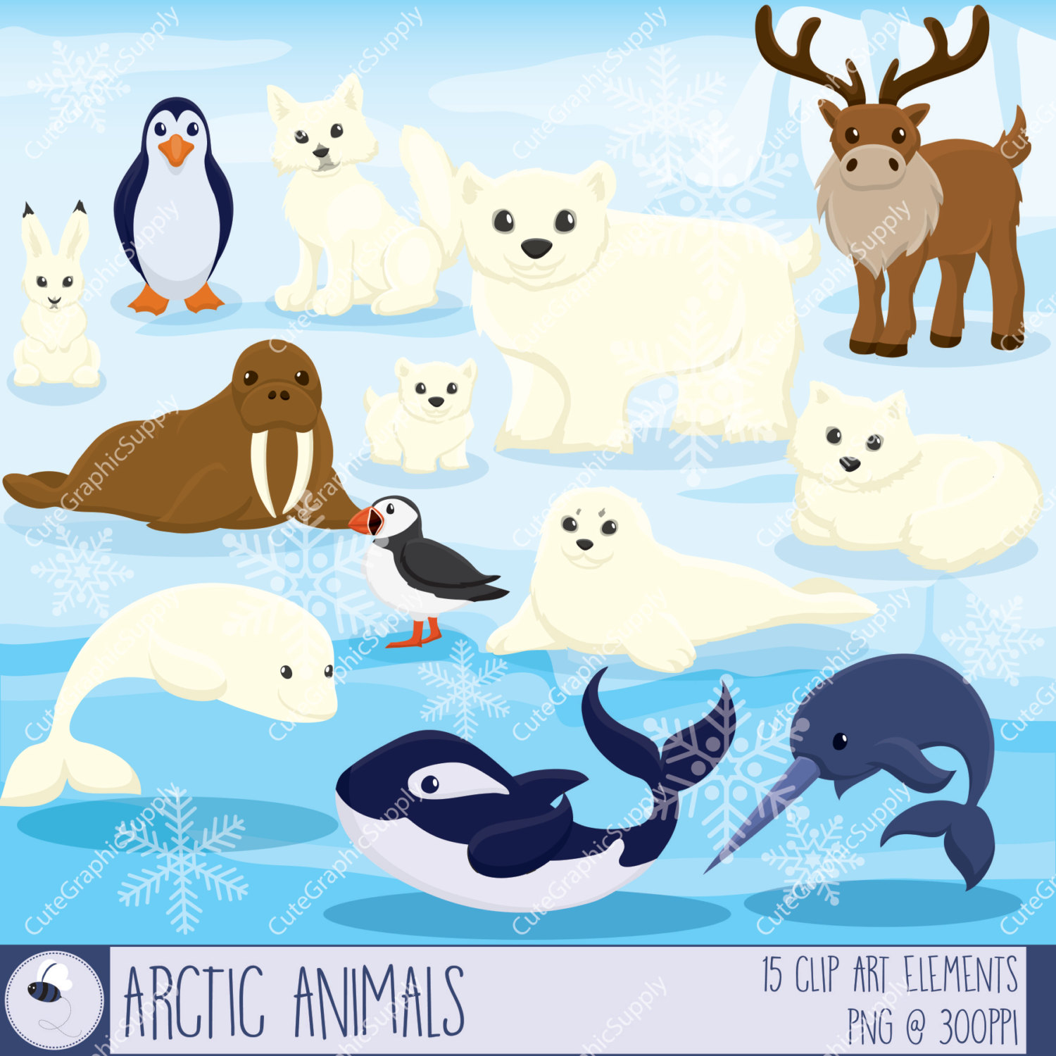 Arctic clipart #2, Download drawings