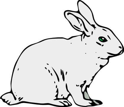 Arctic Hare clipart #2, Download drawings