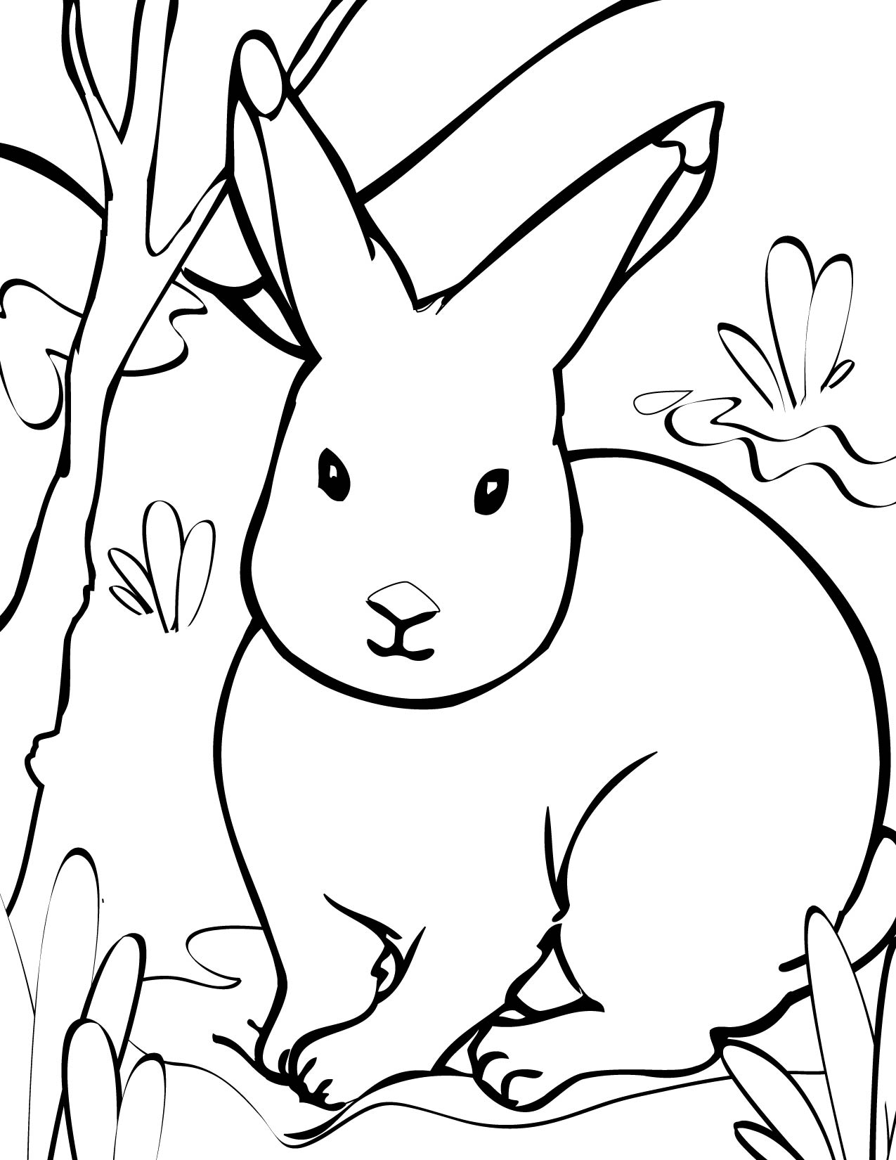 Arctic Hare svg #14, Download drawings