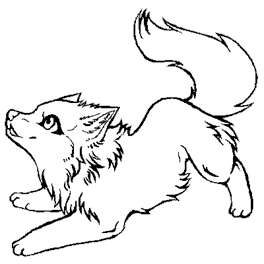 Arctic Wolf coloring #7, Download drawings