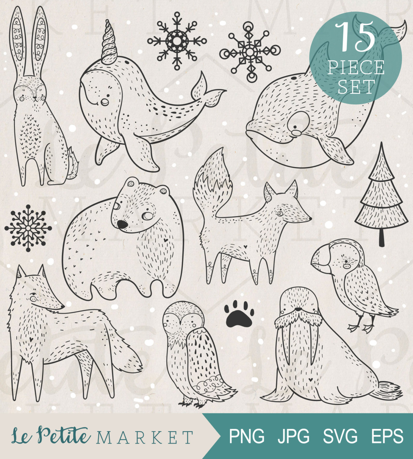Arctic Wolf svg #7, Download drawings