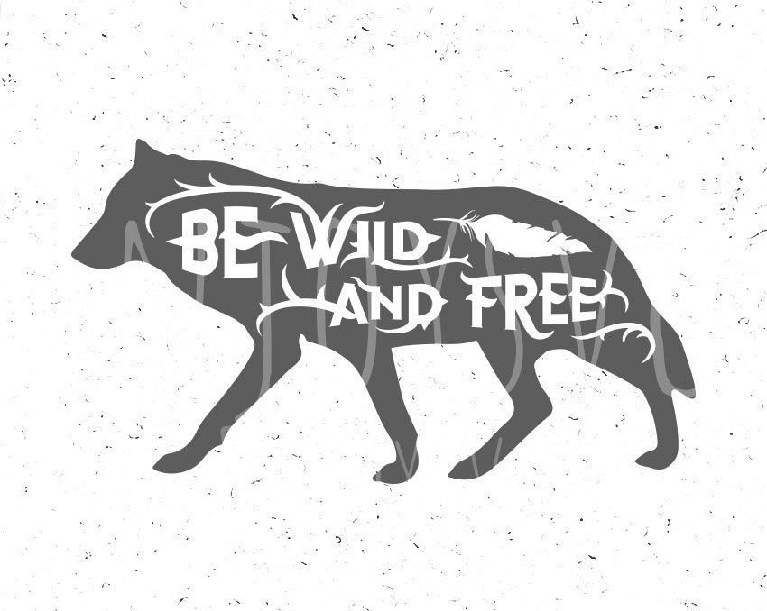 White Wolf svg #12, Download drawings