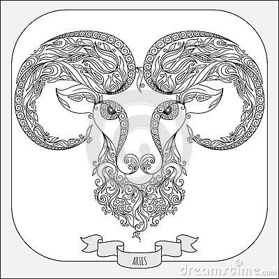 Aries coloring #10, Download drawings
