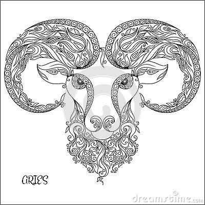 Aries coloring #9, Download drawings
