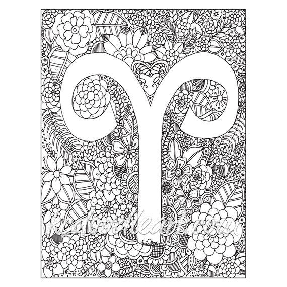 Aries coloring #3, Download drawings