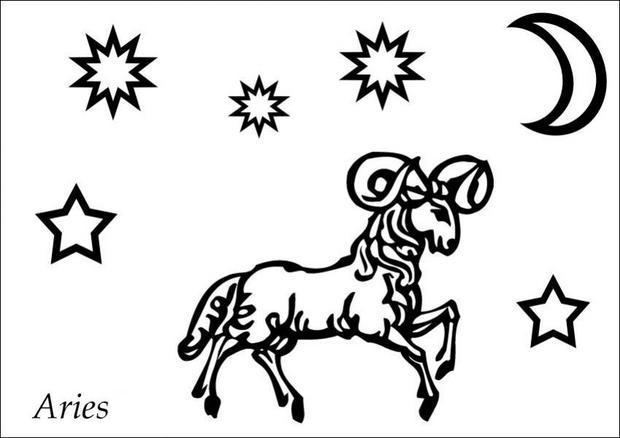 Aries coloring #6, Download drawings