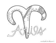 Aries coloring #5, Download drawings