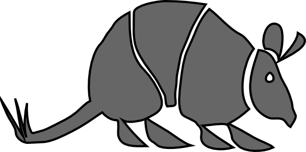 Armadillo clipart #7, Download drawings