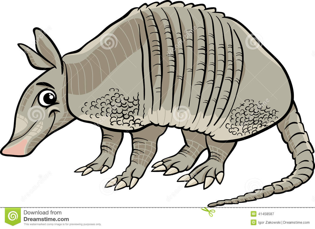 Armadillo clipart #11, Download drawings