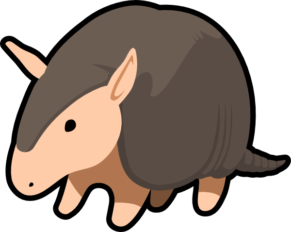 Armadillo clipart #16, Download drawings