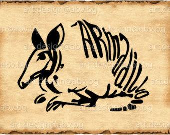 Armadillo svg #16, Download drawings