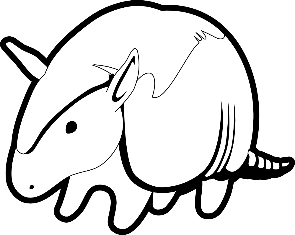 Armadillo svg #18, Download drawings